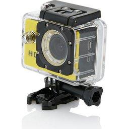 Action camera geel