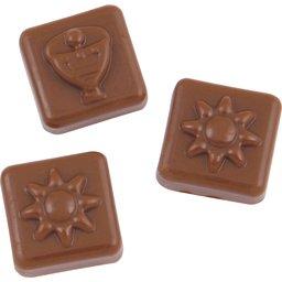 Adventkalender A4 chocolade
