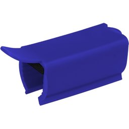Anti-bacteriële winkelwagen Clip-blauw