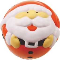 Anti-stress kerstman bedrukken