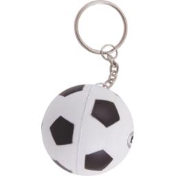 Anti-stress voetbal sleutelhanger bedrukken