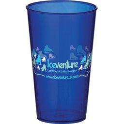 Arena Cup transparant blauw