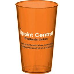 Arena Cup transparant oranje
