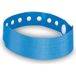 Armband met veiligheidssluiting blauw