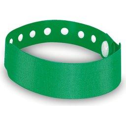 Armband met veiligheidssluiting groen
