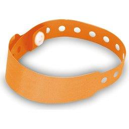 Armband met veiligheidssluiting oranje