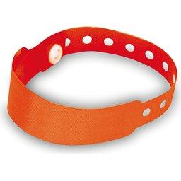 Armband met veiligheidssluiting rood