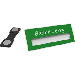 Badge Jerry-ForestGreen-74x30