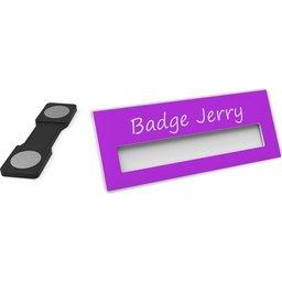 Badge Jerry-Fuchsia-74x30