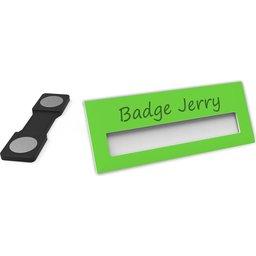 Badge Jerry-LimeGreen-74x30