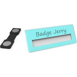 Badge Jerry-MintGreen-74x30