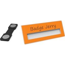 Badge Jerry-Orange-74x30