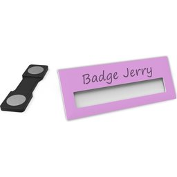 Badge Jerry-Pink-74x30