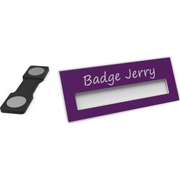 Badge Jerry-Purple-74x30