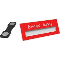 Badge Jerry-Red-74x30