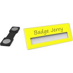 Badge Jerry-Yellow-74x30