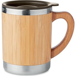 Bamboe RVS drinkbeker - 300 ml