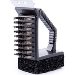 Barbecue grill cleaner