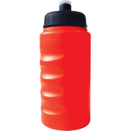 Baseline 500ml Finger Grip Bottle rood