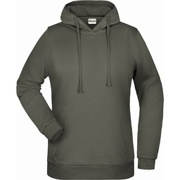 Basic Hoody Lady (dark-grey)