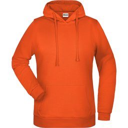 Basic Hoody Lady (orange)