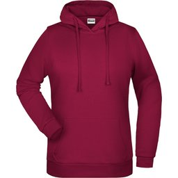 Basic Hoody Lady (wine)