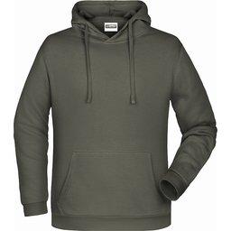 Basic Hoody Man (dark-grey)