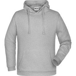 Basic Hoody Man (grey-heather)