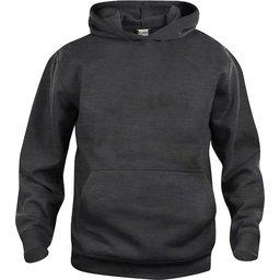 Basic Hoody sweater Junior antraciet