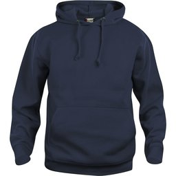 Basic Hoody sweater navy
