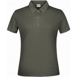 Basic Polo Lady (dark-grey)