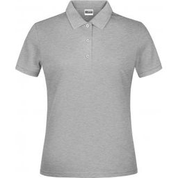 Basic Polo Lady (grey-heather)