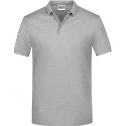 Basic Polo Man (grey-heather)