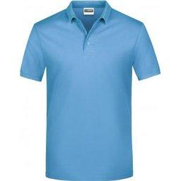 Basic Polo Man (sky-blue)