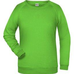 Basic Sweat Lady (lime-green)