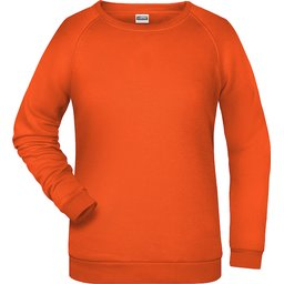 Basic Sweat Lady (orange)