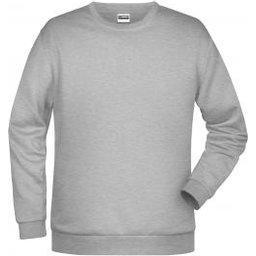 Basic Sweat Man (grey-heather)