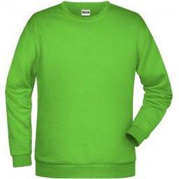 Basic Sweat Man (lime-green)