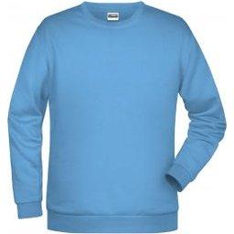 Basic Sweat Man (sky-blue)