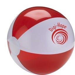 Beachball rood