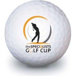 Bedrukte golfballen