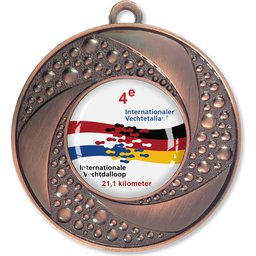 Bedrukte Medaille-Brons