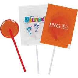 Bedrukte Mini lollipops