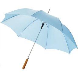 Bedrukte paraplu blauw
