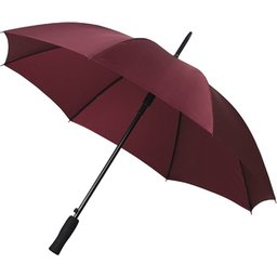 Bedrukte paraplu bordeau
