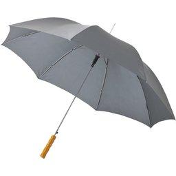 Bedrukte paraplu grijs