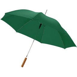 Bedrukte paraplu groen