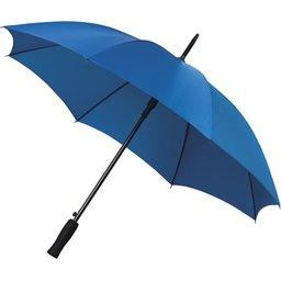 Bedrukte paraplu lichtblauw