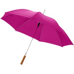Bedrukte paraplu magentha