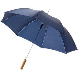 Bedrukte paraplu navy